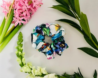 Scrunchies Butterfly Floral - The Ashley