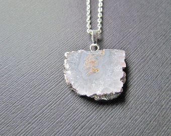 Opalite Solar Quartz Silver Plated Jewelry Pendant Gemstone #AB11 Necklace Pendant Amazing Natural Solar Quartz Green Glass