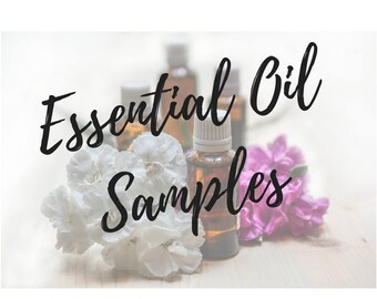Essential Oil Samples, Therapeutic Grade Essential Oils, Pure, All Natural, Frankincense, Lavender, tea tree, lemon, orange, party, gifts
