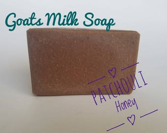 Patchouli Honey Goats Milk Soap, handmade soap, Organic goats milk soap, organic soap, all natural soap, guest soap, gifts for her