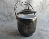 Vintage Silver-Plated Ice Bucket