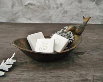 Brass Birdie Soap Dish