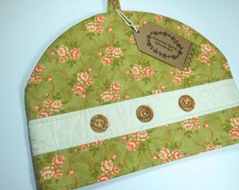Floral Cotton Tea Cosy/Teapot Cosy