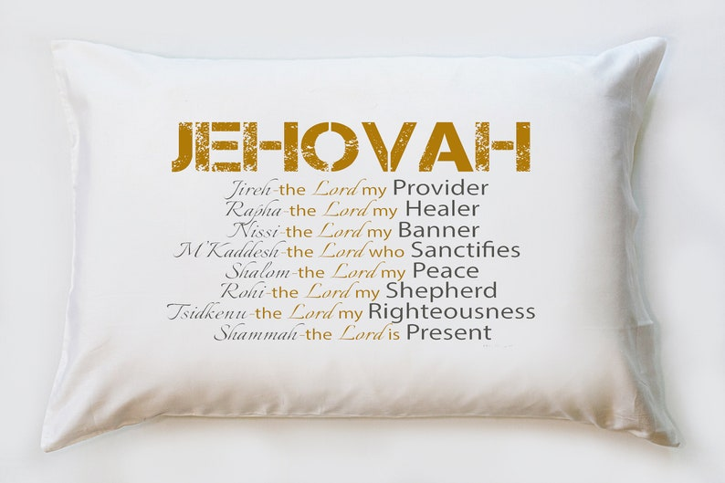 Jehovah - Names of God pillowcase