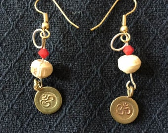 Double Om ~ sound of creation on your ear lobes!