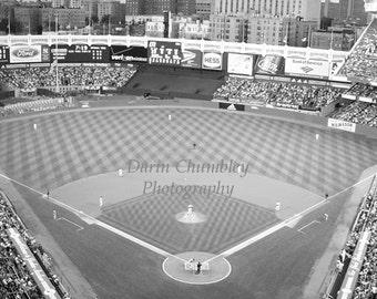 Fine Art Photography - Old Yankee Stadium, New York City,  Black and White