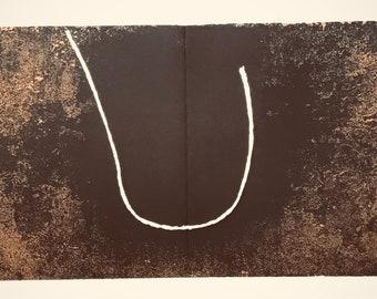 1967 Francois Fiedler  Original Lithograph  DM02167 Contemporary art