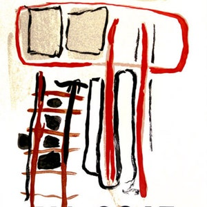 DM03148 Alberto Giacometti Original Lithograph Derriere le Miroir 1964 Modern art