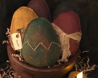 Primitive Easter Eggs Large Bowl Fillers/ Tucks