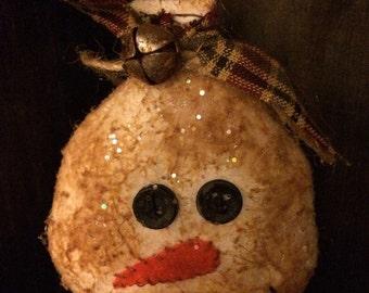 Grubby Snowman Ornie