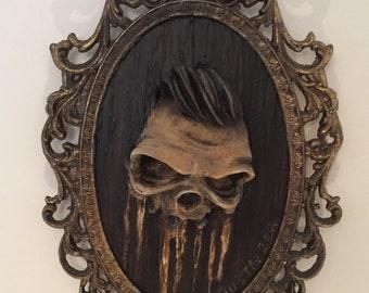 Greaser Skull Artwork