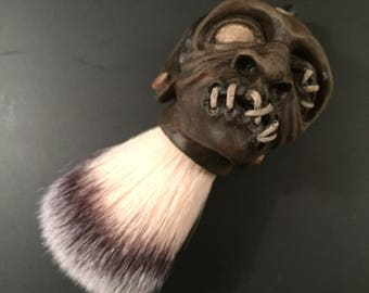 Shrunken Head Shaving Brush
