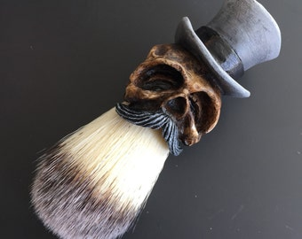 Tophat Shaving Brush (Limited Gray)