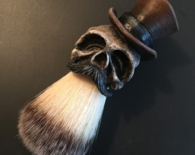 Tophat Shaving Brush  (Brown)
