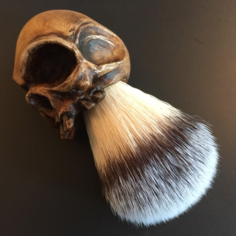 bonehead shaving brush dark