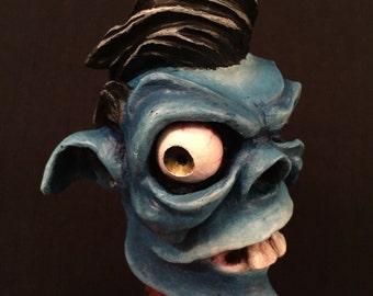 Greaser Demon Shiftknob (Blue)