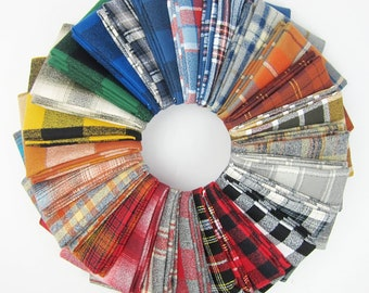 Mammoth Flannel Fat Quarter Bundle - 25 Fat Quarters - 6.25 Yards Total