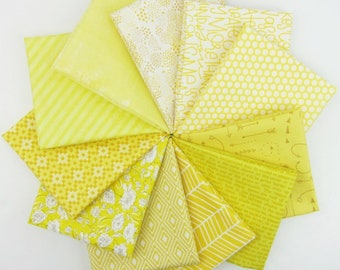 Limoncello Fat Quarter Bundle - 11 Fat Quarters - 2.75 Yards Total