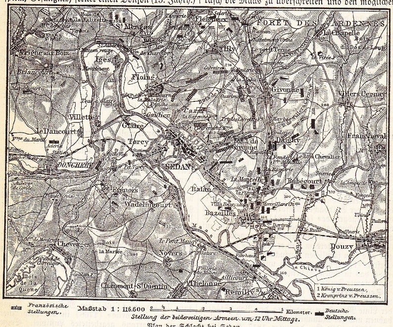 1898 Battle of Sedan, France during the Franco–Prussian War in September on belgium france map, chateau thierry france map, arras france map, le chambon france map, savoy france map, tours france map, london france map, dordogne region france map, barcelonnette france map, belleau wood france map, normandy france map, nice france map, high speed rail france map, france 1940 map, carriveau france map, battle of france map, milan france map, verdun france map, calais france map, meuse france map,