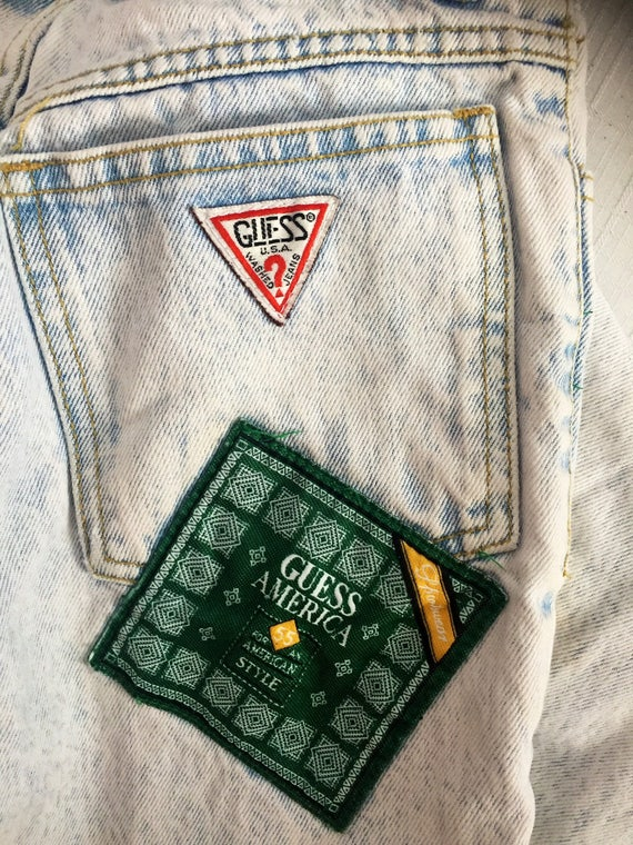 80's Stonewashed Guess Jeans