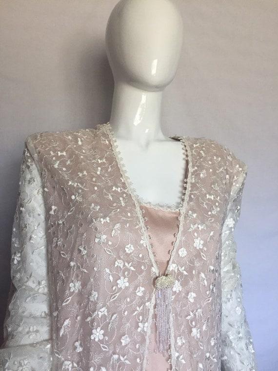 Vintage Rose Gold Wedding Dress