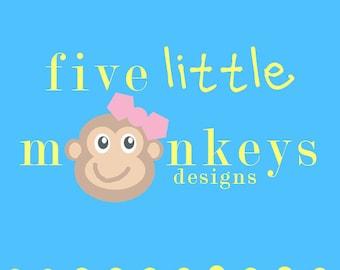 b5b551754d9 Five Little Monkeys Designs by 5littlemonkeysdesign on Etsy