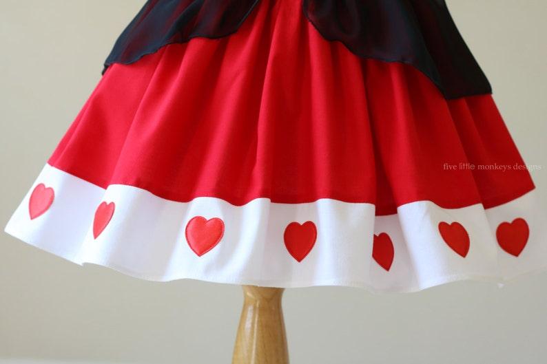 Queen of Hearts Costume White Rabbit Alice in Wonderland Alice in Wonderland Costume Queen of Hearts Dress Queen of Hearts