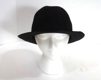 Women s Black Wool Hat 89549842fe2a