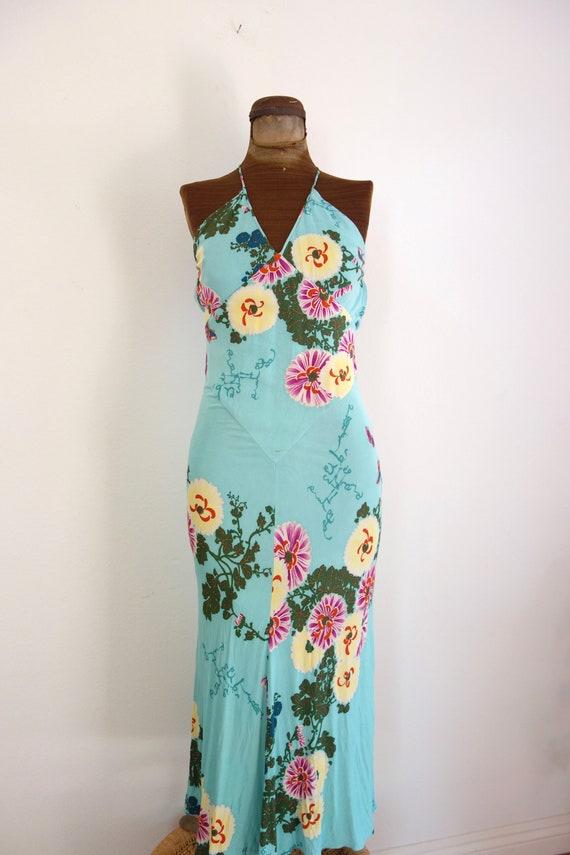 EMANUEL UNGARO Vintage Dress| butterfly Floral Pri