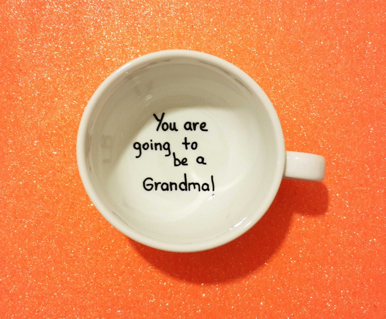 Pregnancy announcement pregnancy announcement mug you're image 0