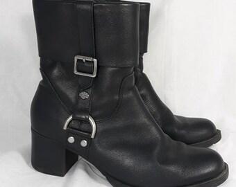9c41ff6f3550 Harley Davidson Womens Boots