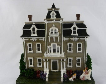Victorian Houses Collection By Catherine Karnes Munn, Beige, Black And White With Pillars