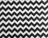 Zig Zag Chevron Polycotton Fabric - 3 Colors .4 quot Thick Zig Zag- Sold By The Yard Poly Cotton