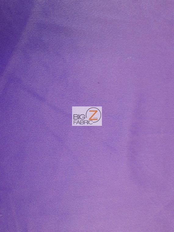 Lavender Lilac Purple Velboa Plush Faux Fake Fur Fabric Polyester 14 oz 58-60