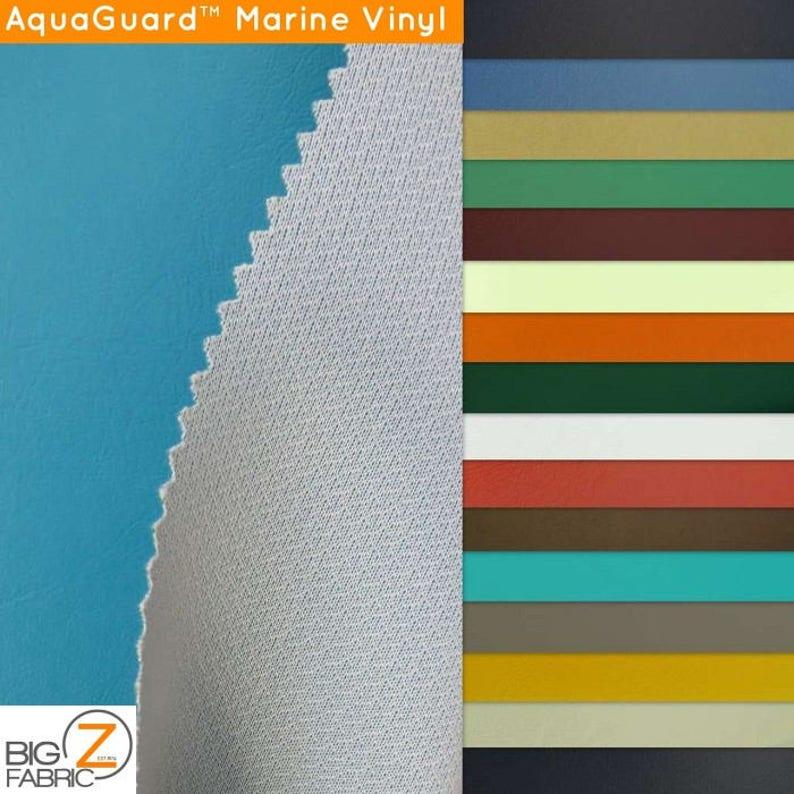 Marine Vinyl Fabric Upholstery-Auto-Boat Aquaguard™ - 32 COLORS- 54