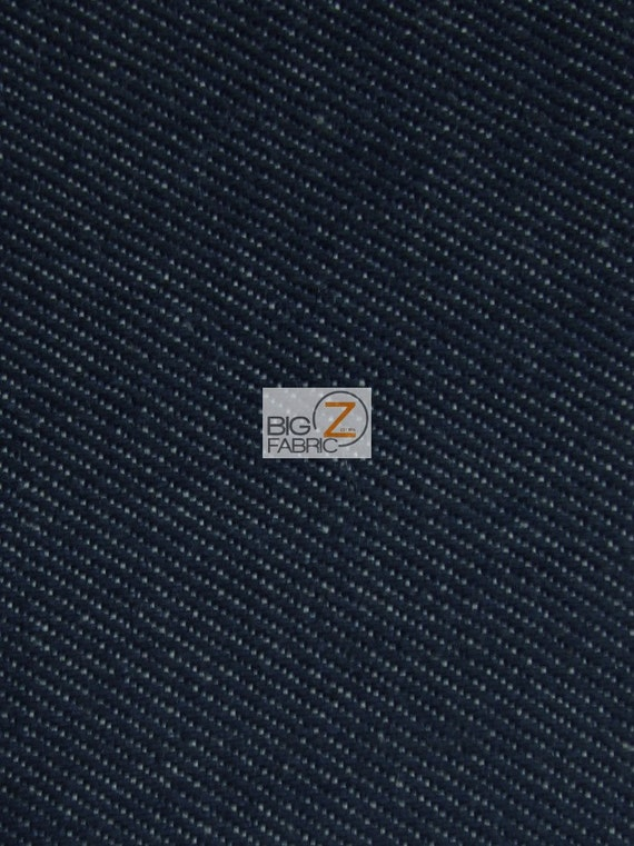 Usa Cone American Classic Denim Fabric Navy By The Yard Etsy