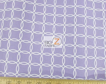 Metro Living Magic Spheres Purple By Robert Kaufman 100% Cotton Fabric - Sold By The Yard (FH-2482) Circles