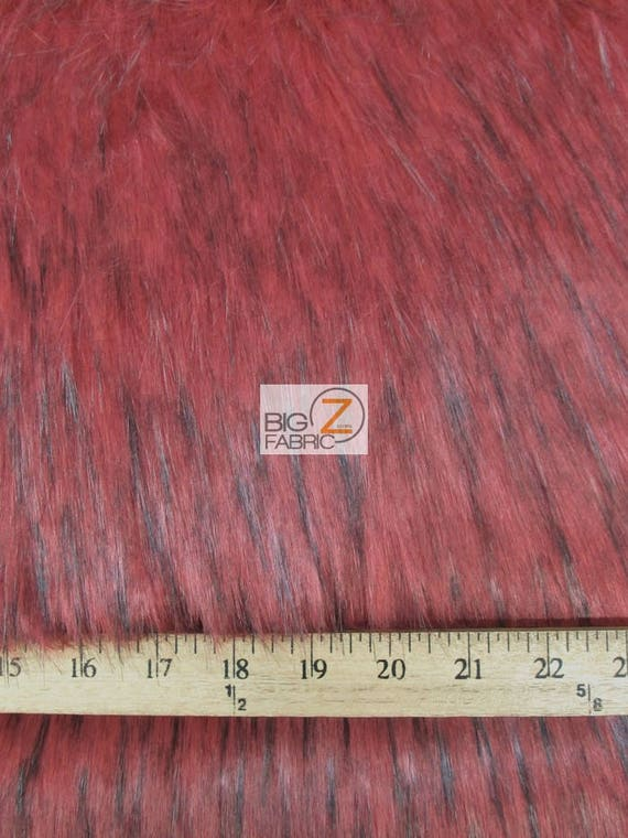 By The Yard Costume Clothing Accessories Scarf Coats Rugs 5 COLORS Shaggy Sabrewulf Faux Fake Fur Fabric