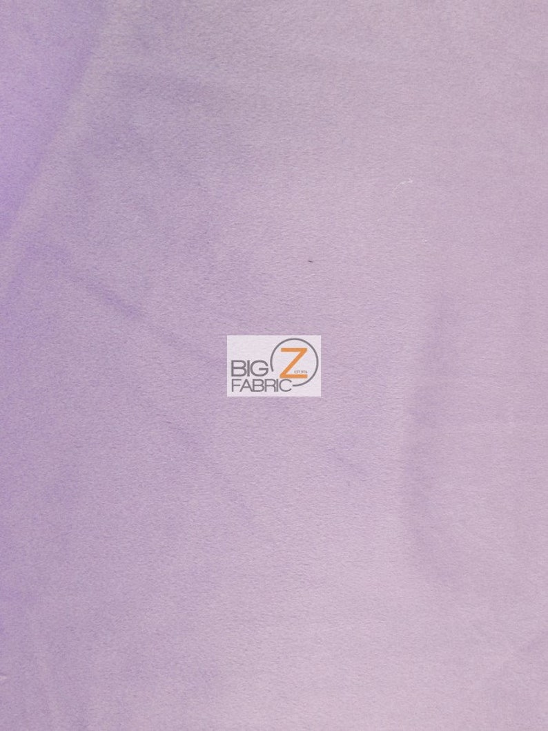Solid Velboa Faux Fur Fabric  LILAC  Sold By The Yard   image 0