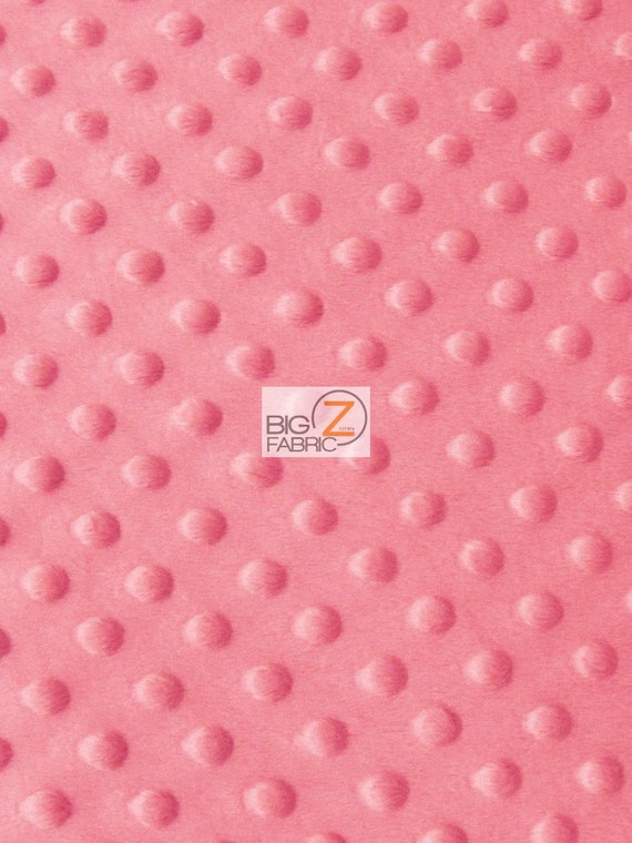 """Lilac 60/"""" SEW-SOFT BABY FABRIC RAISED CHENILLE DIMPLE DOT MINKY FABRIC"""