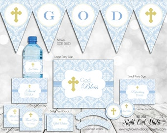 Baptism, Christening, Baby Presentation, Baby Dedication, Baby Boy, Party Package