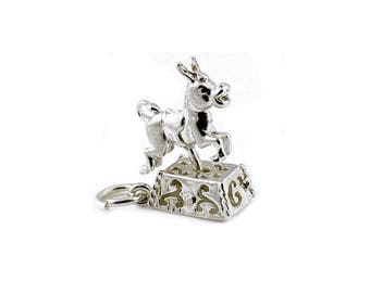 Jewelry & Accessories 925 Silver Animal Series Monkey Fish Fox Deer Charm Pendant For Women Bracelet Diy Jewelry