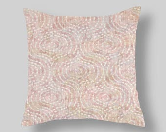 Pillow Cover Blush New Color Throw Pillows Blush Etsy