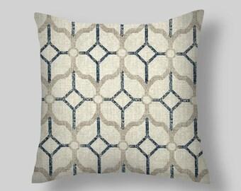 Vintage Indigo Blue Pillow Covers, Pillows,Throw Pillows, Decorative Pillows, Pillow Covers