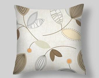 """Pillows, Decorative Pillows, Throw Pillow,""""  Calder Dune""""  PILLOW COVERS ,Decorative Throw Pillows, Pillow Covers,Beach Decor, Wedding,"""