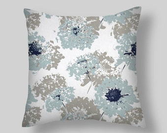 Blue Decorative Pillows, Blue Pillows, All Sizes 16 18 x 18 20   Blue Pillow Cover, Blue  Accent Pillows.  Pillows.  Pillow Covers