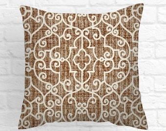 Brown Pillow Covers,  Caramel Pillow Covers , Decorative Pillows,  Accent Pillows ,Throw Pillows ,
