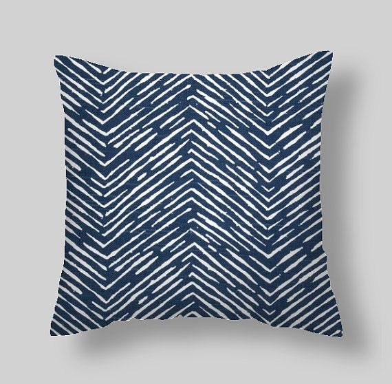 Blue Throw Pillows Navy Blue Pillow Covers Decorative Pillows Etsy Beauteous Dark Blue Decorative Pillows