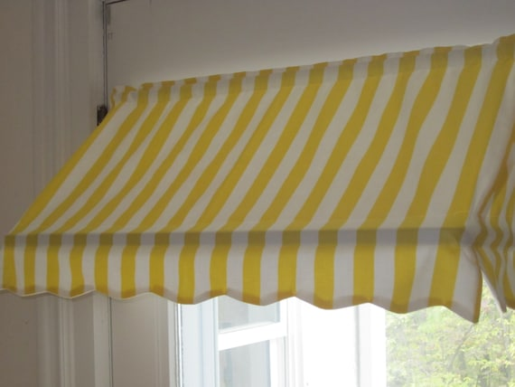 Items Similar To Ready Made Indoor Awning Curtain 31 1 2