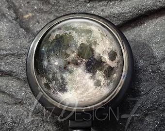Moon /& Stars Retractable Id Badge Reel Holder